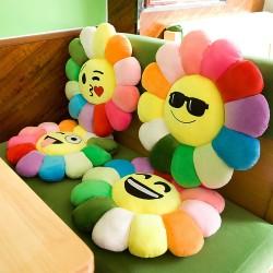太阳花坐垫靠垫