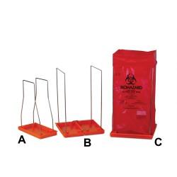 Bel-Art Clavies Biohazard Bag Holder for 24W x 36 in. H Bags