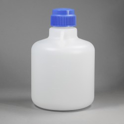 Bel-Art Autoclavable Polypropylene Carboy without Spigot; 10 Liters (2.6 Gallons)