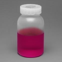 Bel-Art Wide-Mouth 1 L (1 qt) Polypropylene Mason Jars (Pack of 6)