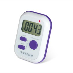 Bel-Art, H-B DURAC Single Channel Electronic Timer with Triple Alarms and Certificate of Calibration