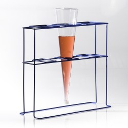 Bel-Art Poxygrid Imhoff Cone Rack; 3 Places, 17¹⁄₂ x 6³⁄₄ x 16 in.