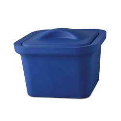 Bel-Art Magic Touch 2 High Performance Blue Ice Pan; 1.0 Liter Mini Model, With Lid