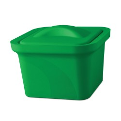 Bel-Art Magic Touch 2 High Performance Green Ice Pan; 1.0 Liter Mini Model, With Lid