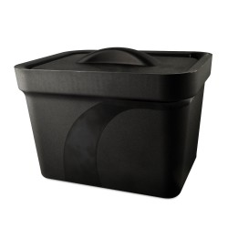 Bel-Art Magic Touch 2 High Performance Black Ice Pan; 4.0 Liter Midi Model, With Lid