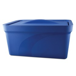 Bel-Art Magic Touch 2 High Performance Blue Ice Pan; 9.0 Liter Maxi Model, With Lid
