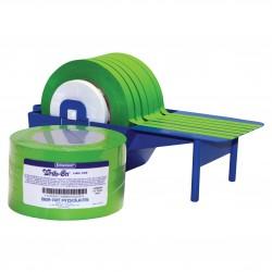 Bel-Art Write-On Green Label Tape; 40yd Length, ¹/₂ in. Width, 3 in. Core (Pack of 6)