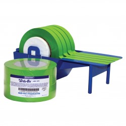 Bel-Art Write-On Green Label Tape; 40yd Length, ³/₄ in. Width, 3 in. Core (Pack of 4)