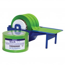 Bel-Art Write-On Green Label Tape; 40yd Length, 1 in. Width, 3 in. Core (Pack of 3)
