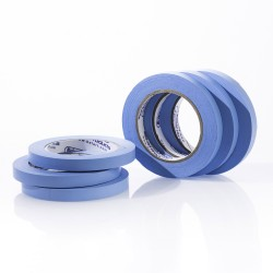 Bel-Art Write-On Blue Label Tape; 40yd Length, ¹/₂ in. Width, 3 in. Core (Pack of 6)