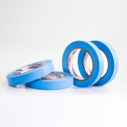 Bel-Art Write-On Blue Label Tape; 40yd Length, ³/₄ in. Width, 3 in. Core (Pack of 4)