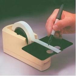 Bel-Art Write-On Single Roll Label Tape Dispenser; 8³/₈ x 3³/₈ x 3³/₄ in.