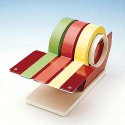 Bel-Art Multi-Roll Tape Dispenser; 10¹/₄ x 6 x 4³/₈ in., 4 in. x 6 in. Writing Surface