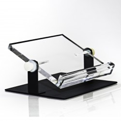 Bel-Art Adjustable Microplate Tilting Stand; 4½ x 6½ x 2¼ in.