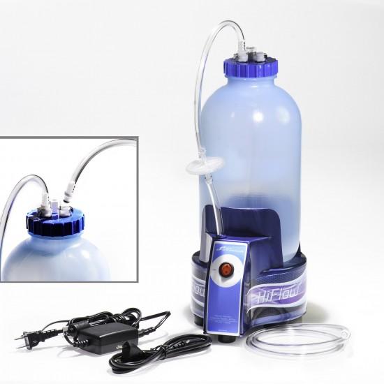 Bel-Art HiFlow Vacuum Aspirator Collection System, 1.0 Gallon Bottle with Pump