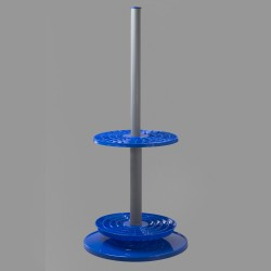 Bel-Art Rotary Pipette Stand; 94 Places, Polypropylene