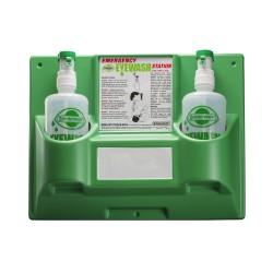 Bel-Art Emergency Eye Wash Safety Station; 2 Bottles, 1000ml (x2)