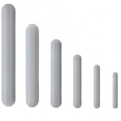 Bel-Art Spinbar Polygon Magnetic Stirring Bar without Pivot Ring; 15 x 6 mm