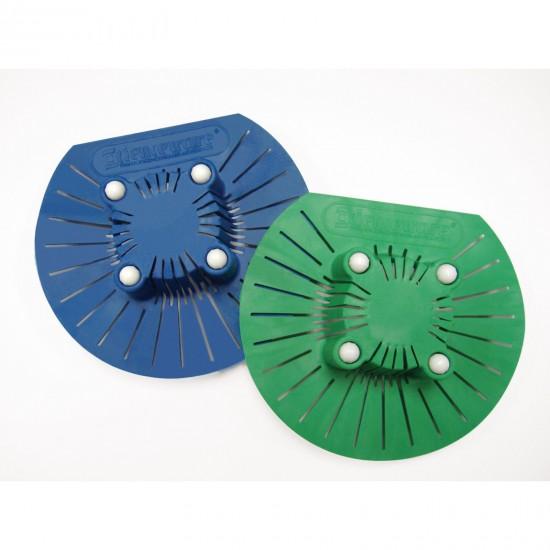 Bel-Art Spinbar Magnetic Stirring Bar Sink Strainer; Blue