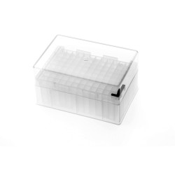 PurePlus® 2.5 mL 96 Well Deep Well Plates with Square Wells and Clear Lid, Autoclavable