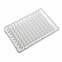 PurePlus® 0.1 mL 96 Well PCR Plates with Half Skirt for ABI® Fast Thermocyclers